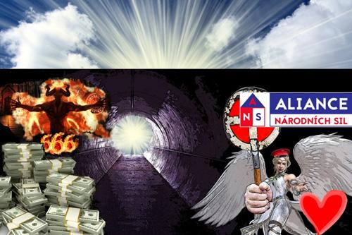 Aliance národních sil se jednoznačně postavila na stranu lidství a přirozené evoluce