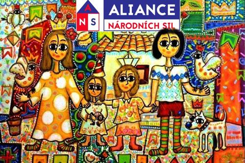 """Základní bod volebního programu """"Aliance národních sil"""": VYSTOUPIT Z EU (2)"""