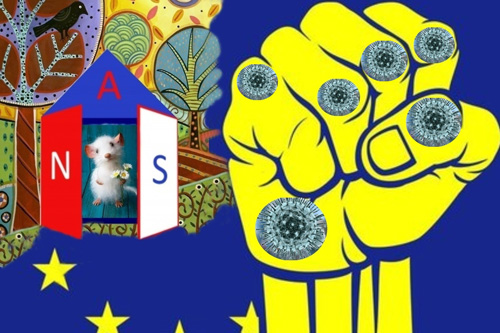 """Základní bod volebního programu """"Aliance národních sil"""": VYSTOUPIT Z EU (3)"""