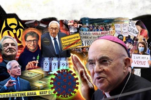 Arcibiskup Vigano vyzval svět, aby se postavil proti spiknutí, které rozpoutala strana Temna prostřednictvím koronaviru (1. část)