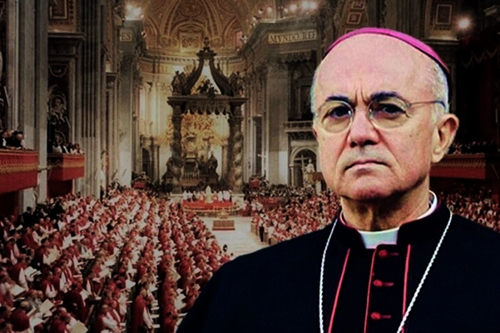 Arcibiskup Vigano zveřejnil svědectví o sexuálních deliktech amerického kardinála McCarricka a obvinil papeže Františka, že o těchto zločinech věděl