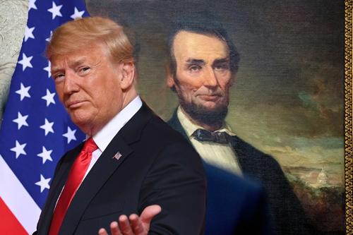 Donald Trump jako Abraham Lincoln?
