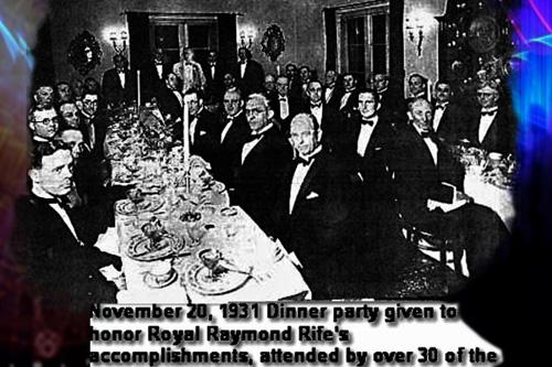 Je nám dlouhodobě zamlčována pravda o úspěšné léčbě rakoviny – Royal Raymond Rife jeden z největších utajených géniů lidstva 3