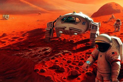 Mars – uprostřed války o planetární osvobození