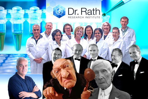 MUDr. Matthias Rath: žaloba na farmaceutický průmysl