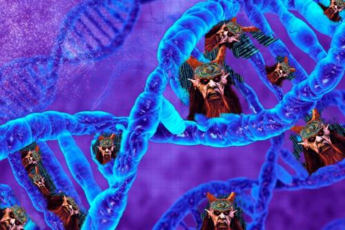 Naše DNA je z 97% uměle vytvořená a vložená parazitická struktura