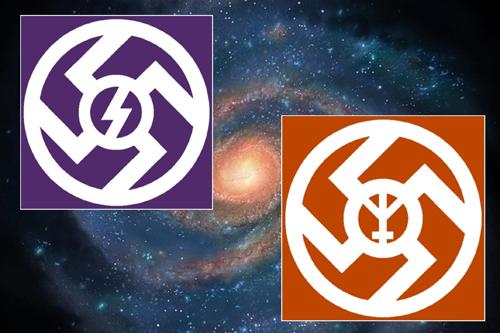 Praslovanské symboly vedara a vedaman