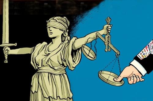 Právní systém slouží vládě a korporacím