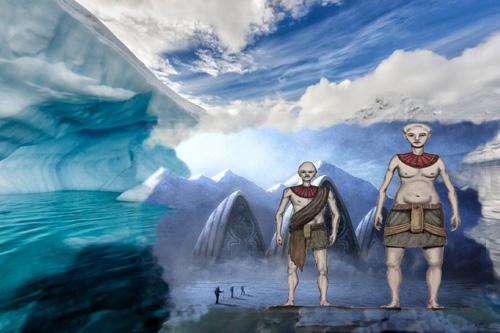 Preadamité v Antarktidě – 1. část