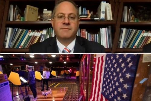 Předseda americké Federální volební komise (FEC) Trey Trainor poskytl americké televizi Newsmax zásadní vyjádření