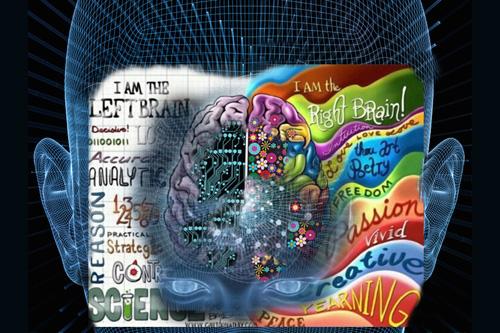 Protěžovaná archontí levá mozková hemisféra
