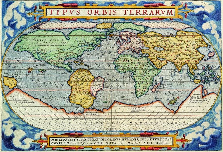 TYPVS ORBIS TERRARVM