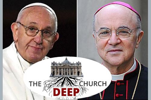 "Vigano zdůraznil, že neexistuje jen ""Deep State"", ale i ""Deep Church"""