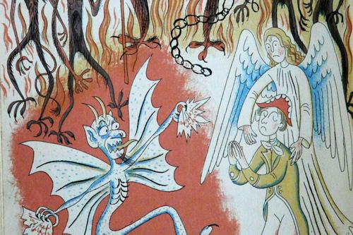 Zkázonosná literární práce Hada v Bibli